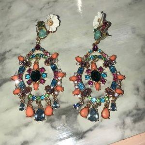 Colorful bling earrings!